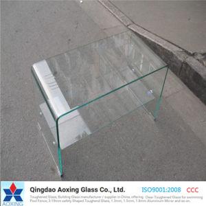 Arqueados/dobrados para mobiliário de vidro temperado/Table/vidro de construção