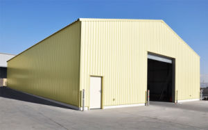 La luz de la construcción de la estructura de acero prefabricados