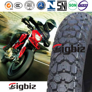 3.00-21 Verwendeter schwarzer Motorrad-Gummireifen für Sudan-Markt