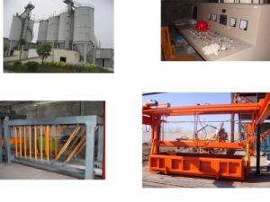 Блок AAC делая завод, производственную линию блока AAC, машину блока AAC газированную заводом