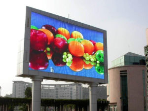 Commerce de gros Outdoor défilement message pleine couleur affichage LED