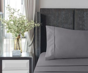 Comercio al por mayor precio de fábrica de hoja de bambú de tamaño King Size establece para el Hotel