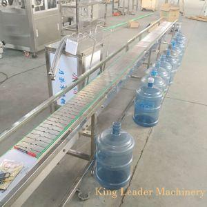 병을 5개 갤런 물통 물 채우는 캡핑 기계 재생하십시오
