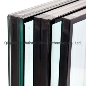 8+12A+8mm de verre flotté doubles vitrages/// en verre trempé le verre feuilleté/Verre de sécurité de verre isolé/// l'UIIG mur rideau en verre en verre