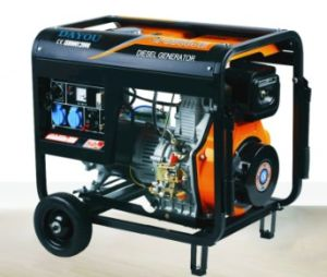 Beweglicher Disel Generator aussondern/geöffneter dreiphasigtyp