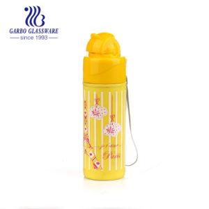 ステッカー(GB25168210-QGY-TH QT-603C)との子供の使用のための特別な口デザインの200ml水差し
