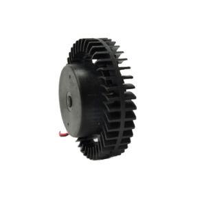 Paletas de plástico industrial 12V 3000cfm bajo precio pequeño ventilador centrífugo de escape