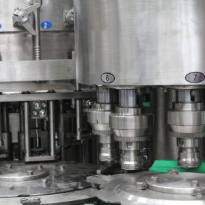 회전하는 자동적인 주스 병에 넣는 것은 세척 채우는 마시는 기계를 급수할 수 있다