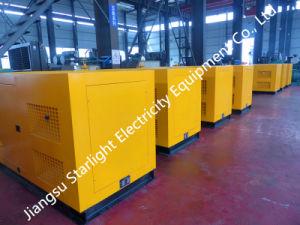 75квт генератора на заводе на базе Рикардо R6105zd дизельный двигатель Super Silent генераторах цена