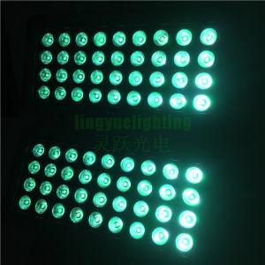 屋外DMX 72X10Wの壁の洗浄LED都市カラーライト