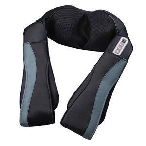 Conforto Duplo Shiatsu e a vibração e a espádua massajador com o calor