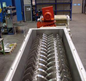 Lodo de esgoto de galvanoplastia Kjg-2.7 Secador Pá Oco