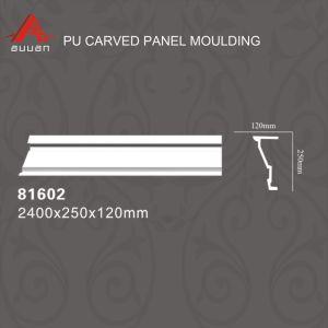 Modanatura materiale del cornicione dell'unità di elaborazione del poliuretano della decorazione interna 81595