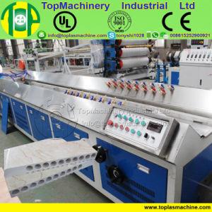Le plastique panneau décoratif Imitation carrelage imitation marbre PVC Profil de moulage par extrusion Making Machine