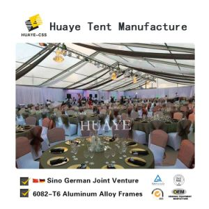 Transparentes grosses Partei-Zelt für Partei-Ereignis (HAF 30M)