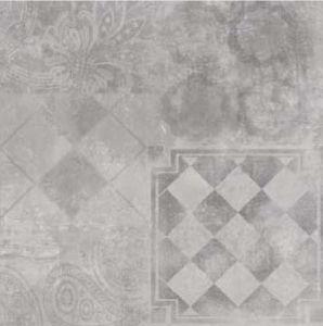 Het grijze Porselein van de Kleur & Ceramische Opgepoetste Verglaasde Tegel voor de Tegel van de Vloer en van de Muur