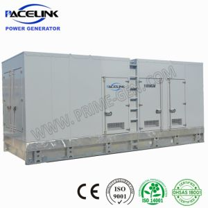 1100 Ква Super Silent дизельных генераторных установок на базе Perkins настраиваемый