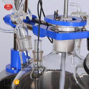 Lab Reactor de vidro com uma única camada 1-20L