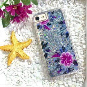 Nouvelle arrivée sables mouvants Glitter liquide Accessoires Téléphone Mobile pour iPhone
