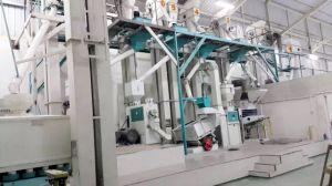 Acabados de alta calidad de procesamiento de arroz planta completa
