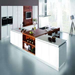La mobilia moderna del MDF della lacca di stile imposta gli armadi da cucina di legno domestici della mobilia (ACS2-L146)