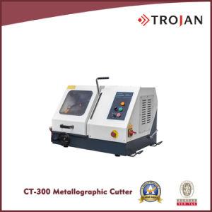 300 CT Metalografía Tabla/Manual de la rueda Sierra de la máquina de corte abrasivos
