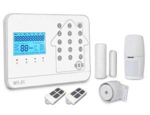 Sistema di allarme domestico senza fili di WiFi GSM dell'allarme delle 2018 case