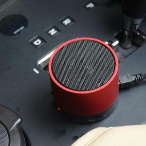 Светодиодный индикатор Bluetooth мини-динамик беспроводной динамик металлическая переносная беспроводная технология Bluetooth динамик громкоговорителя FM радио аудио TF карты памяти USB-гарнитуры для использования вне помещений мини-динамик