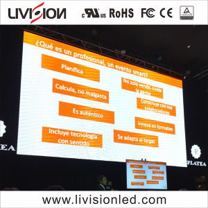 Mur vidéo LED Indoor Location écran LED de couleur Le panneau Affichage de haute qualité de l'écran Affichage LED P4.8 pour des événements