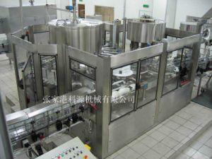Macchina di rifornimento automatica con la parte di coperchiamento di riempimento di lavaggio