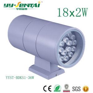 セリウムRoHS 3With36W One HeadかDouble Heand LED Wall Light