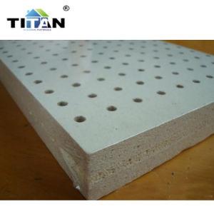 Absorción acústica 12mm de espesor de la junta de fibra mineral acústico