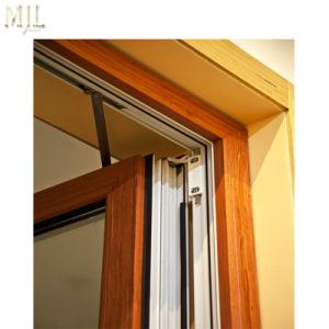 Wasserdichtes Aluminiumflügelfenster-dekorative örtlich festgelegte Oberseite wölbte Glasschwingen-Fenster