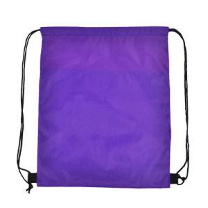 Saco para roupa suja de poliéster Ripstop mochila para Dom/praia/Sports