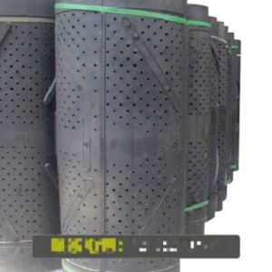 탄 폭파 기계를 위한 쉬운 착용 부분 돌풍 바퀴