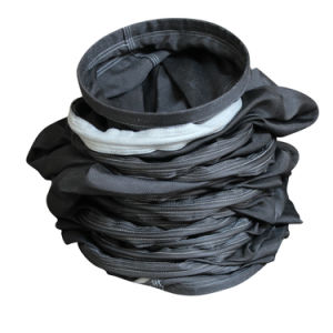 Battre la vente de sac de filtre en fibre de verre avec membrane en PTFE pour l'usine de ciment