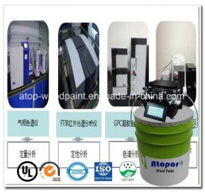 屋内装飾の紫外線摩耗の層SpcのコーティングのニスPintura De Pisos PVC WPC
