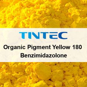 優秀な特性が付いているプラスチックのための黄色い顔料180