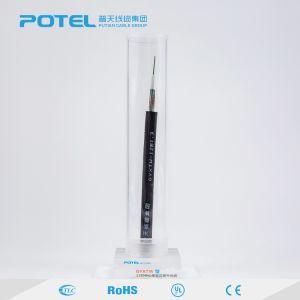 Due tubi centrali del filo di acciaio/cavo ottico corazzato esterno fibra di Unitube