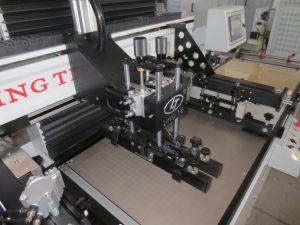 Rollo a rollo automático de la impresora de pantalla
