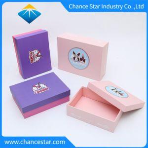 El papel impreso personalizados envases de cartón Caja de regalo de alimentos para el pastel de galleta, Chocolate