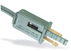 Fuse 5A와 10A를 가진 편평한 Power Cord