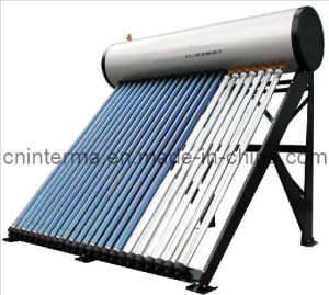 Встроенный солнечный водонагреватель давления