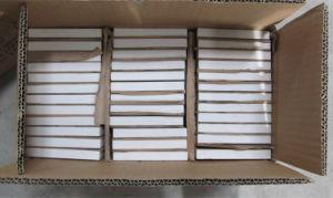 高いアルミナの陶磁器のライニングのタイル92% 95% Al2O3