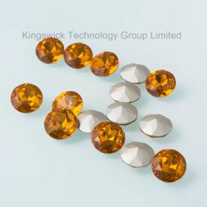 Topaas van uitstekende kwaliteit 1201 het Ronde Bergkristal van het Glas voor Juwelen