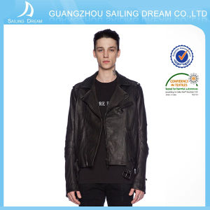 Modo Style Highquality Leather Jacket Made in Cina