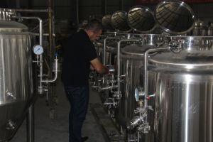 Sistema elettrico di preparazione della birra dei 2-3 barilotti