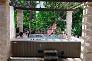 Balboa acrílico do Sistema de massagem de luxo hidromassagem jacuzzi