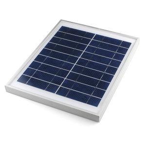 La poli Panel solar 10W para el sistema de iluminación solar LED