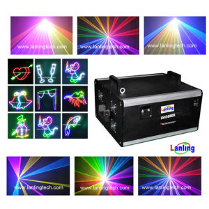 L5457RGB, PRO 5W de luz láser RGB, proyector de láser a color